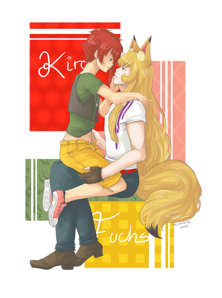 Kiro y Fuchs by sakumane