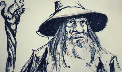 Gandalf by kent-of-artload