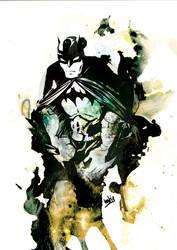 THE BATMAN by kent-of-artload