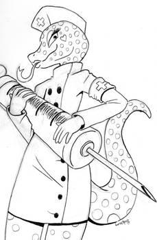 Catherine Pen Draw