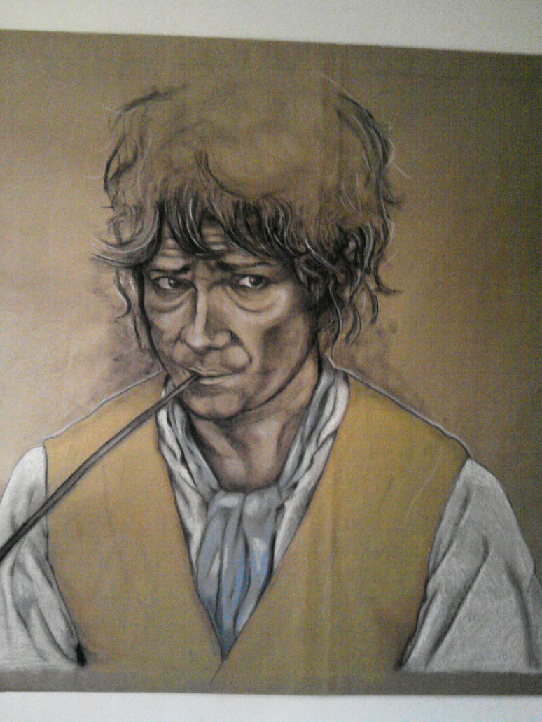 Bilbo Baggins The Hobbit 2 Finish work by Namuzza94