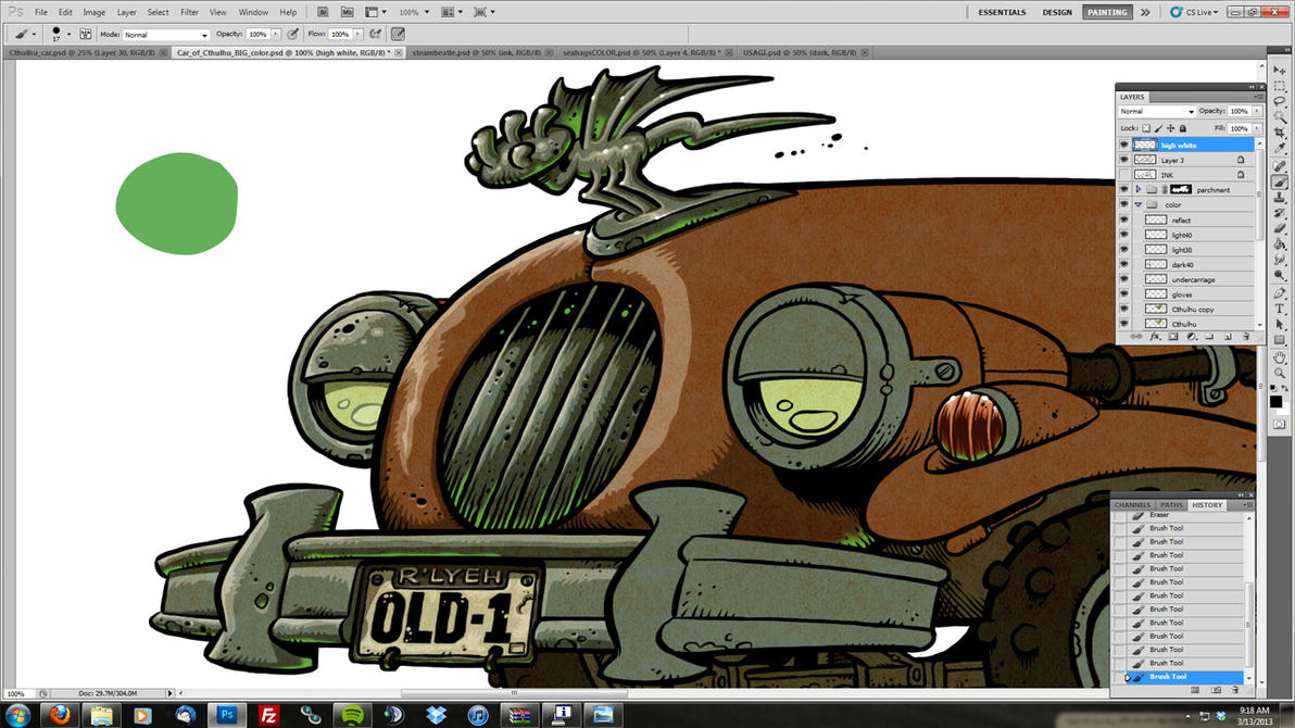 Car of Cthulhu - WIP2 by Kennon9