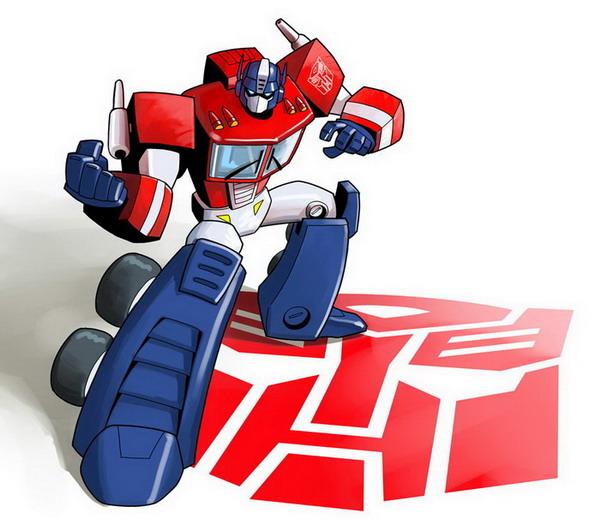 Toony Optimus by EJ-Su