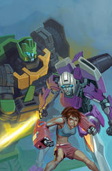 Sins of Wreckers #5 alternate cover
