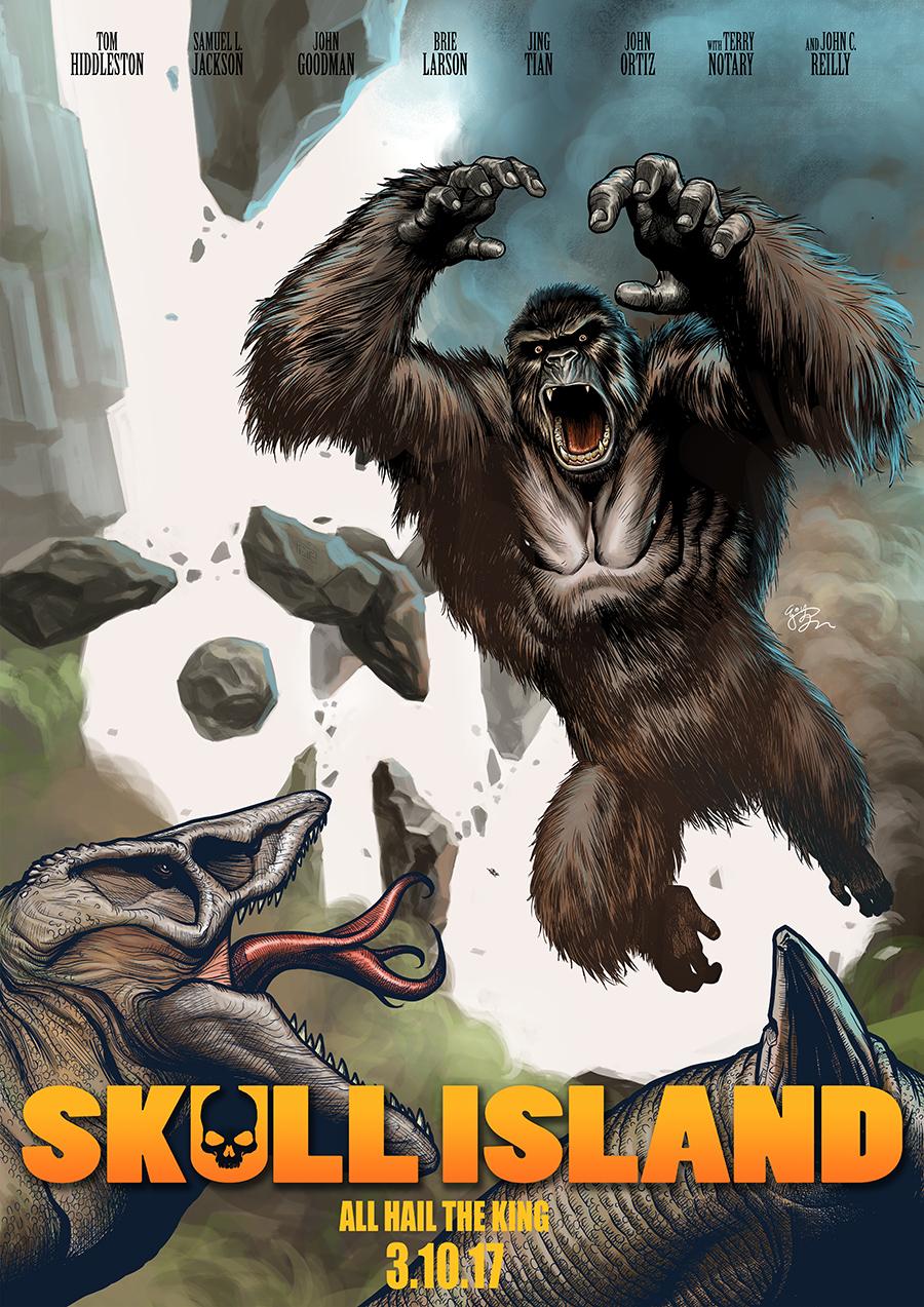 Kong: Skull Island by EJ-Su