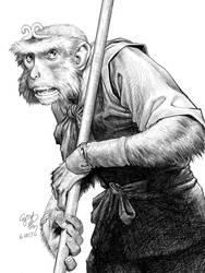 Monkey King  by EJ-Su