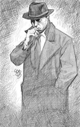 Noir detective by EJ-Su