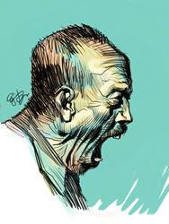 Screaming Old Man by EJ-Su