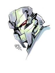 Megatron head study by EJ-Su