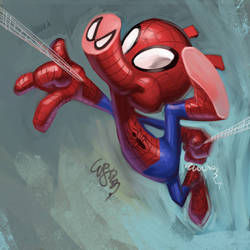 Spider-ham by EJ-Su
