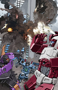 Transformers #29 colored version.