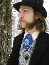Indigo Fellowship Cravat by ILL-FATED-USHER