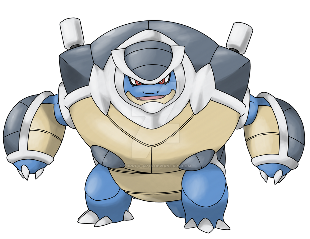 Mega Blastoise X by DurrCo-Arts on DeviantArt