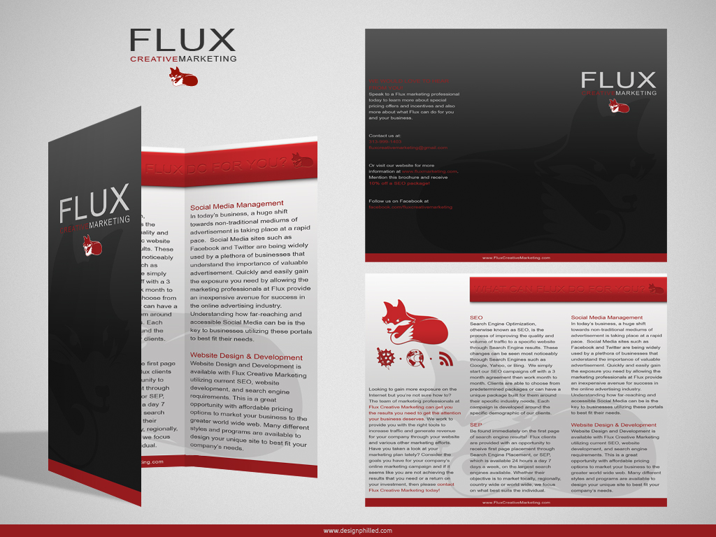 Flux Marketing Brochure by DesignPhilled