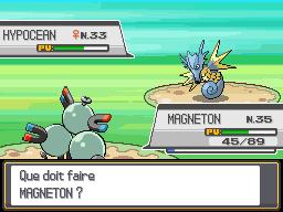 Battle vs a wild seadra by pokemon-epidote