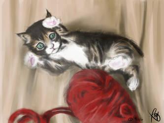 [Ipad Mini] Munchkin Cat by Bakakinz
