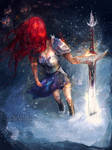 Erza Scarlet - Night