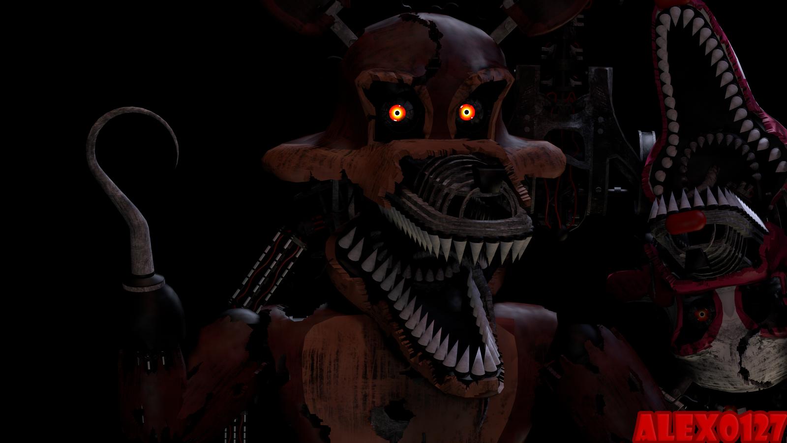fnaf 4 mangle nightmare - photo #37