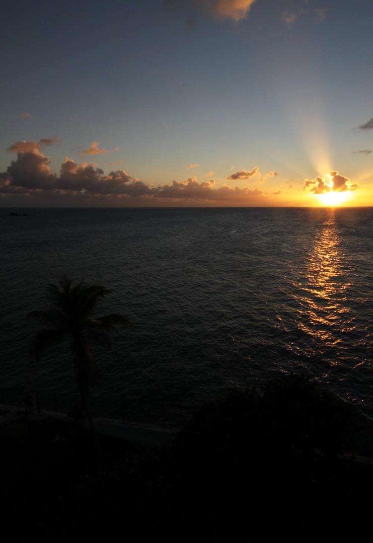 Sunset over Bahia Honda State Park by uvadtmfub