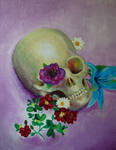 Flowery Skull