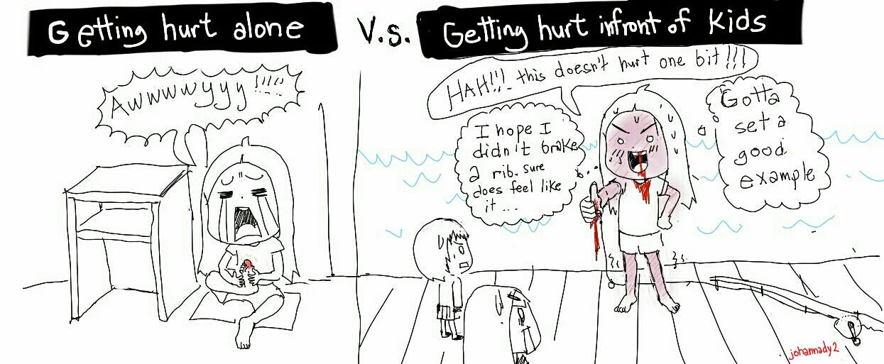 Getting hurt by johannady2