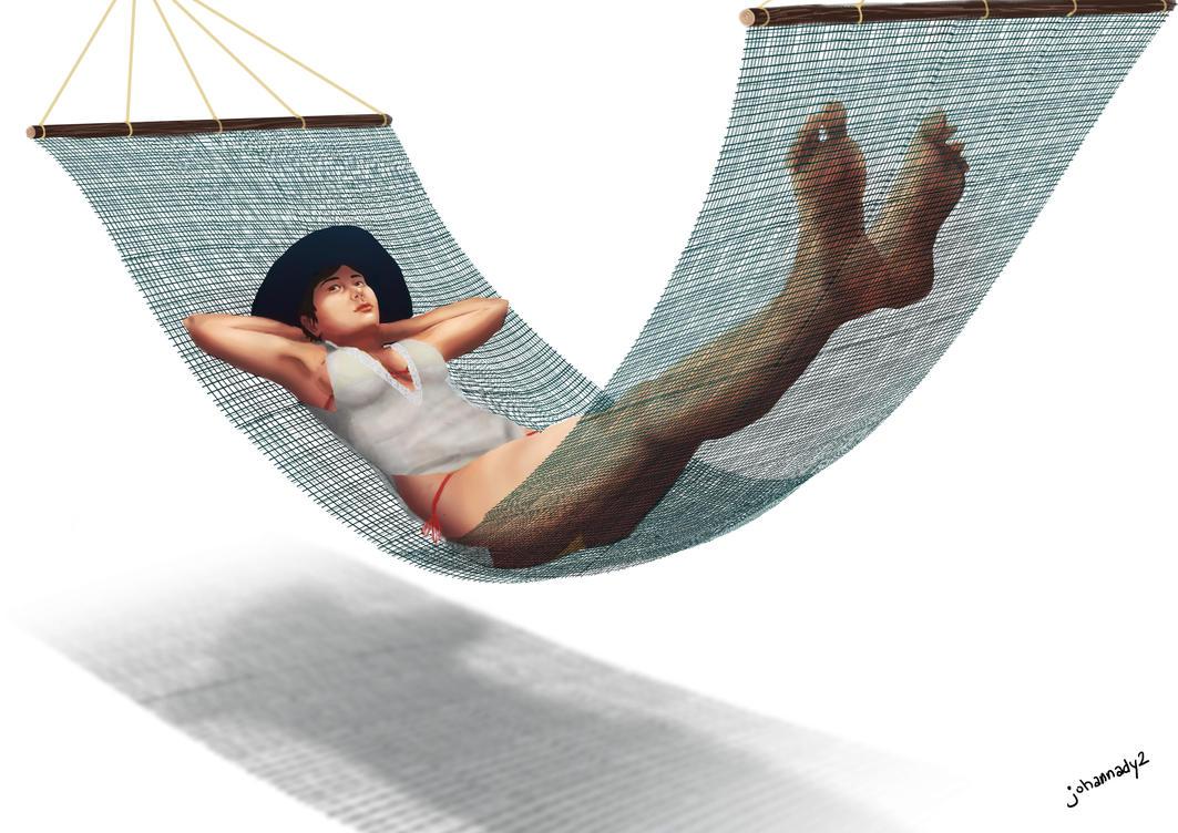 hammock by johannady2
