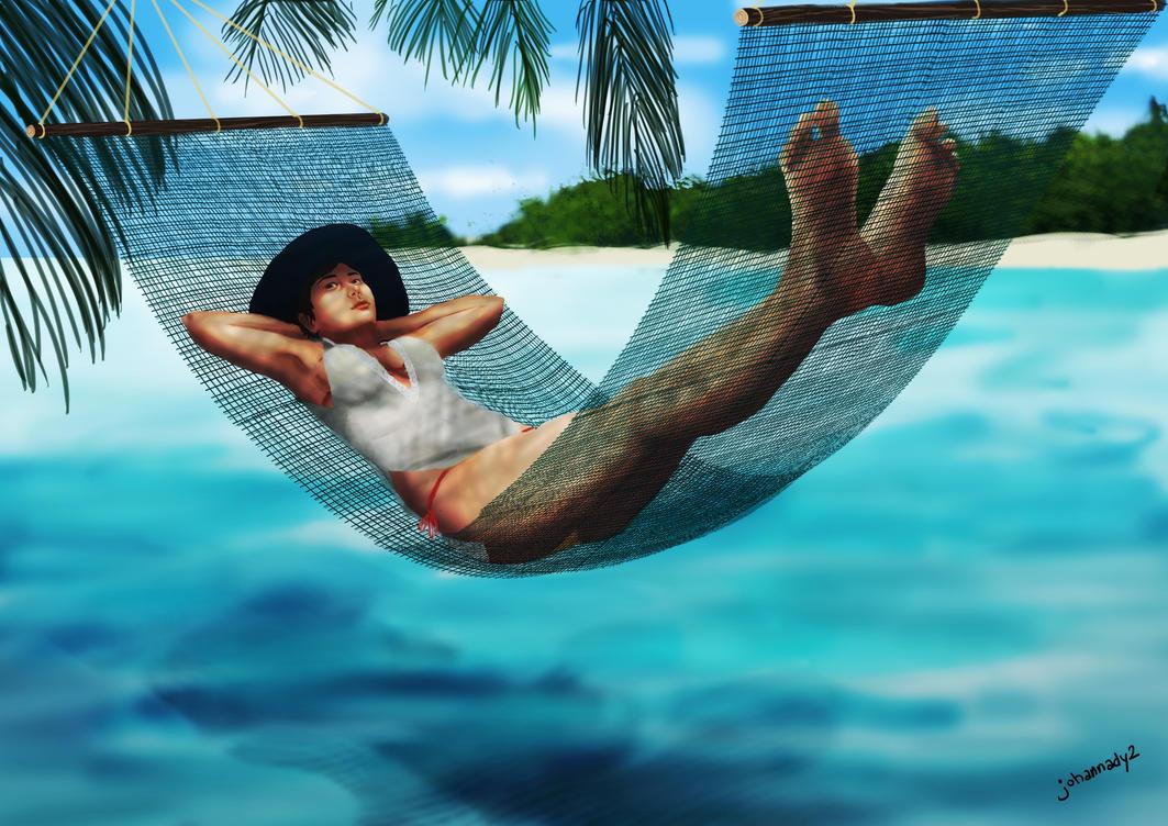 hammock w/ bg by johannady2