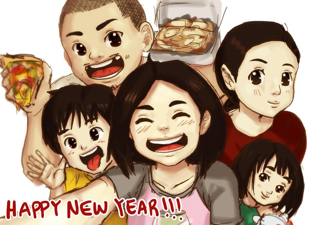 Happy New Year 2016 by johannady2