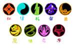 Ronin Warrors/Yoroiden ST Symbol Guide