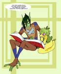 Corn Cartoon hero