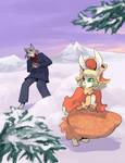 Snow Ball fight.