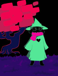 Ralsei by Warlord-of-Noodles