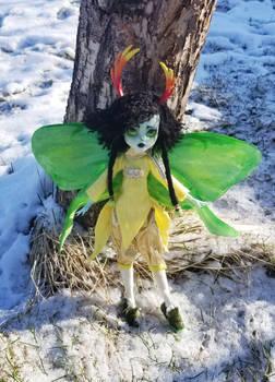 Troll Monster High re-do:  Maid of Hope