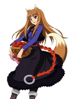 Holo (Spice and Wolf) by MTRiZkit