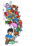 Imagination Overload by zaENDle