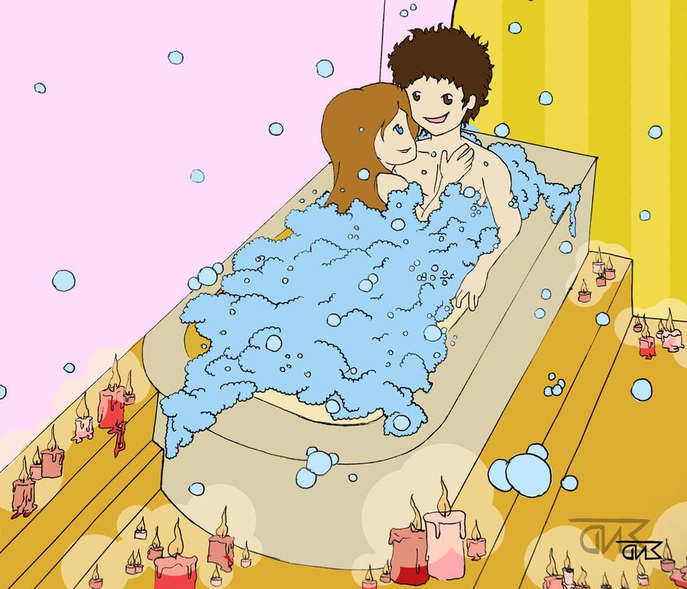 Romantic Bath by zaENDle