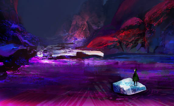 Adventure on floe by Pati-Velux