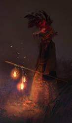 Ghastly Wanderer by Pati-Velux