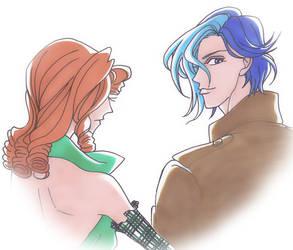 Juri and Ruka by KiraCatwell