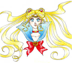 Sailor Moon by KiraCatwell