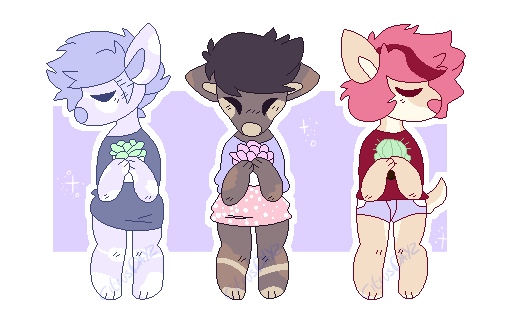 Lil anthro adopts (open) by Citrusdayz