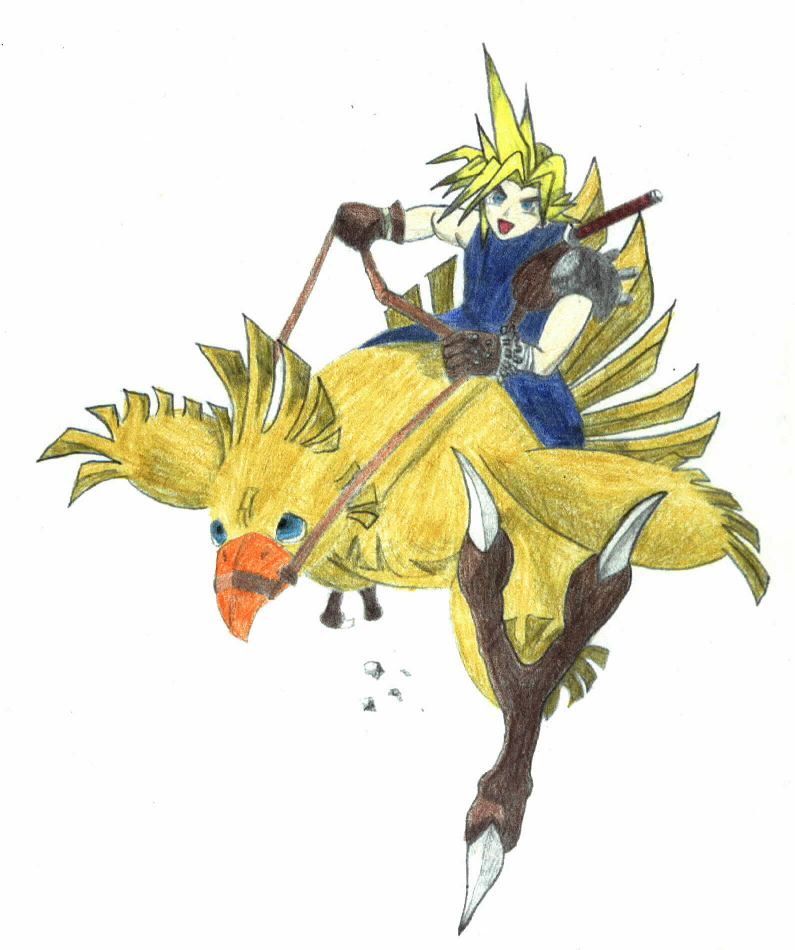 how to win at chocobo racing ff7
