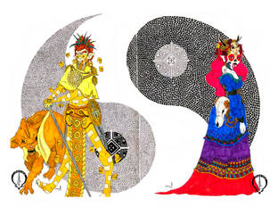 Ying yan by Louvive