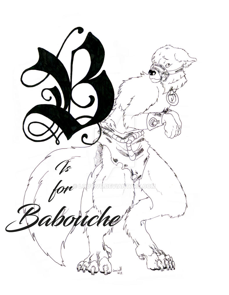 B is for Babouche by Louvive