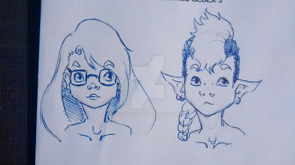 Shai et Lea by Louvive