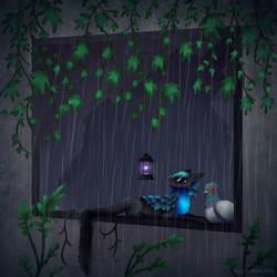 Rainy by mossymothcity