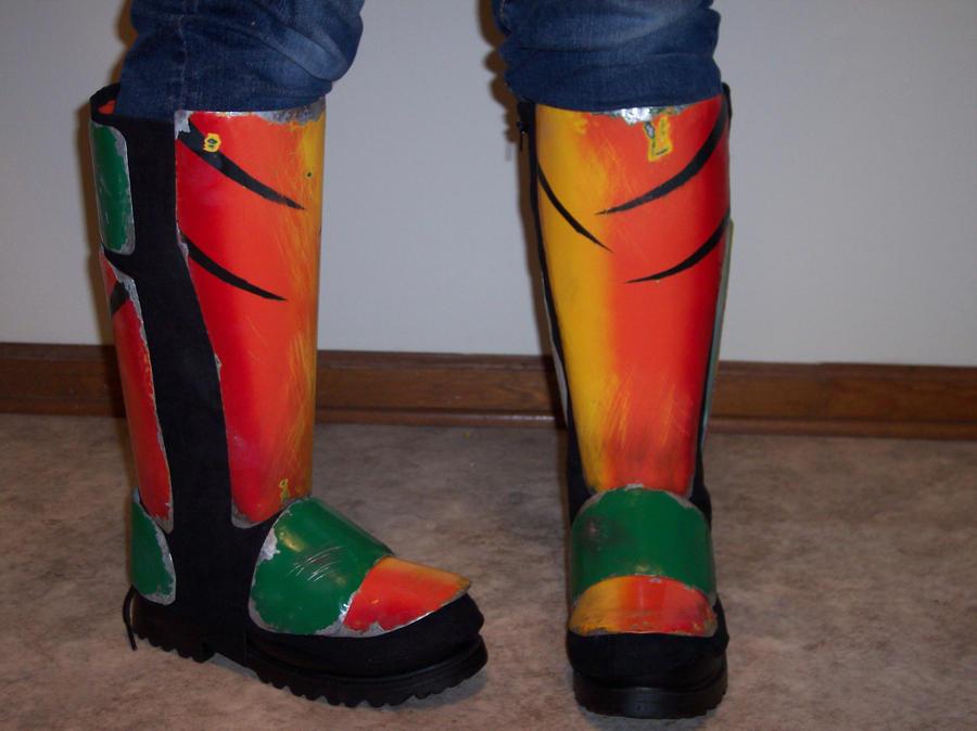 Sheb-Kicking Mando Boots by Pheonix023