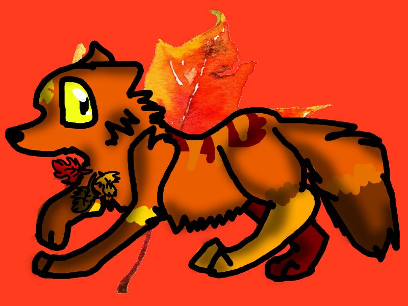 Autumn the fox by AutumLeavesofFall
