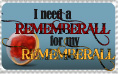 Rememberall Stamp by FostersFan-Imp