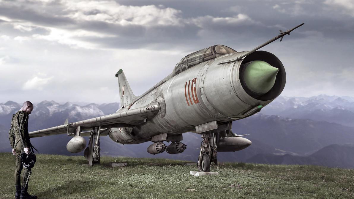 Sukhoi Su-7 by MachiavelliCro
